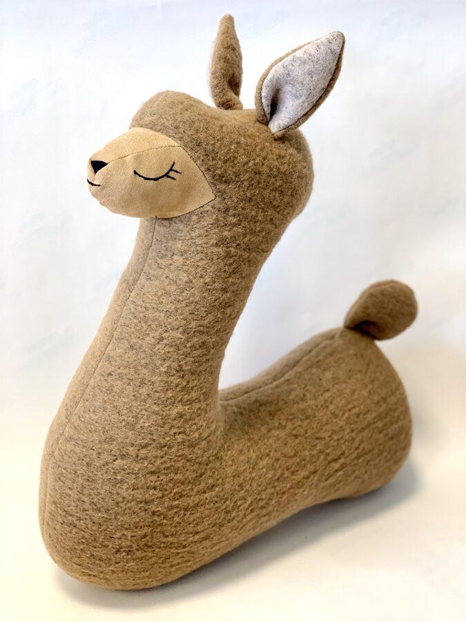 Alpaca from natural lama fur