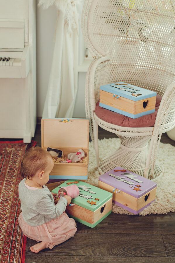"Memory Box ""Childhood memories"""