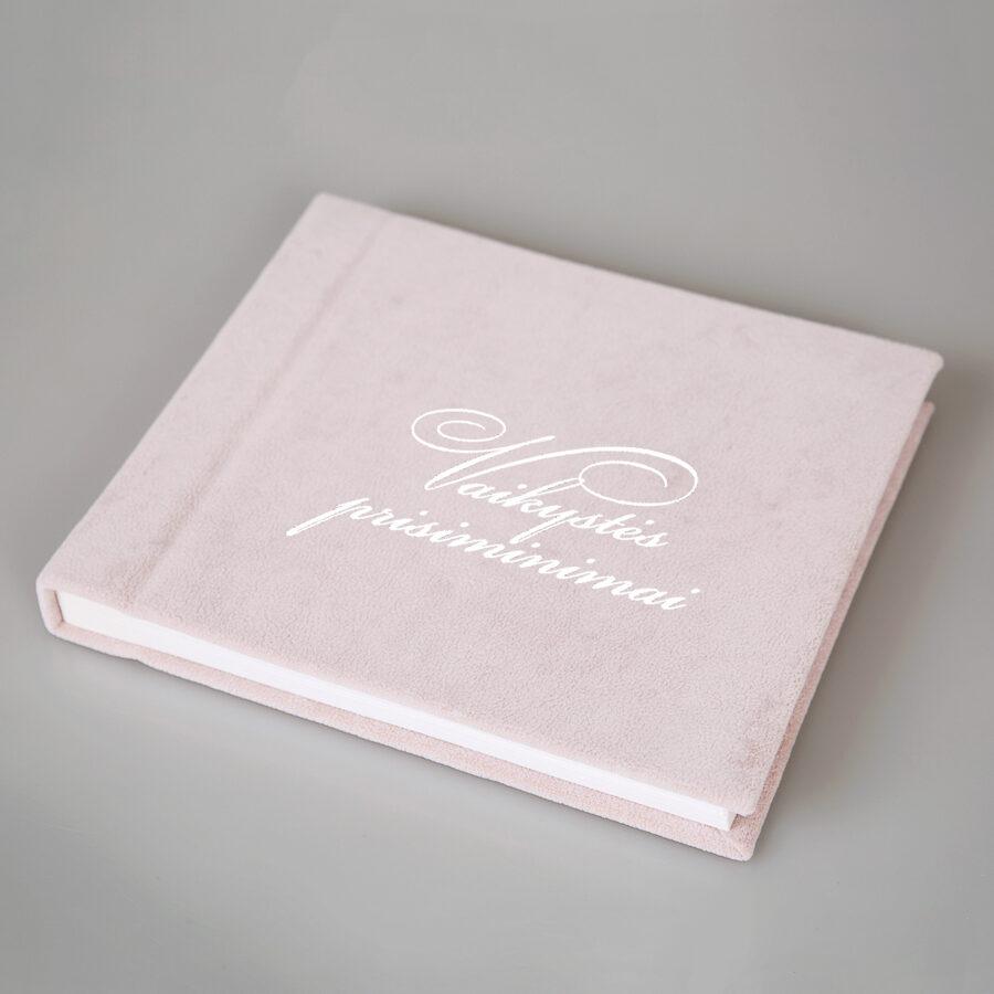 Personalized Velour Photo Album
