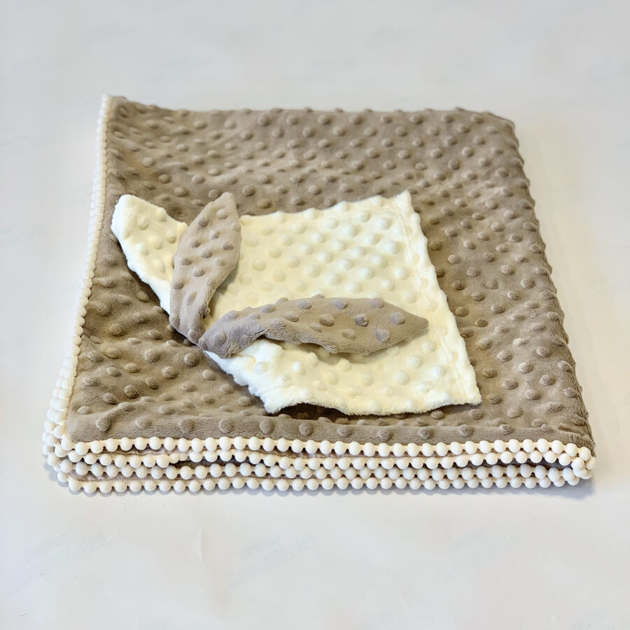 2in1 Blanket with sewn-up Baby Comforter